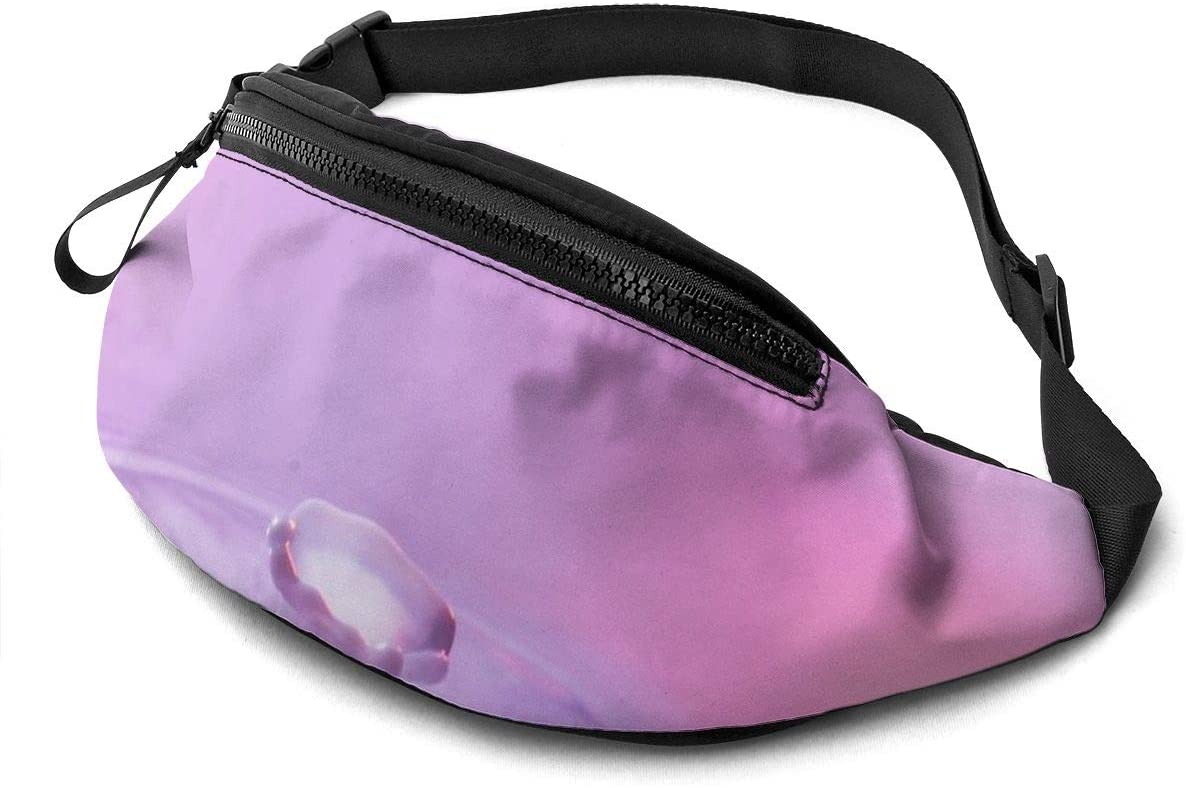 Volcano Dripping Fashion Casual Waist Bag Fanny Pack Travel Bum Bags Running Pocket For Men Women