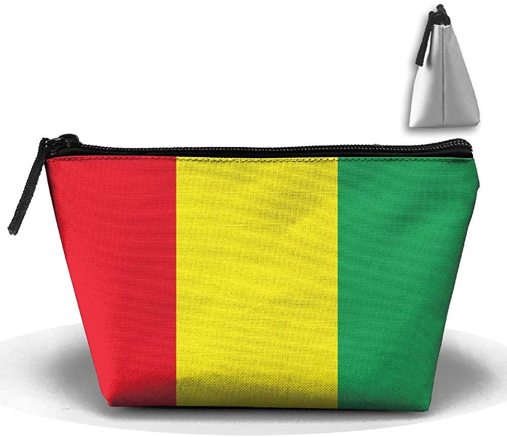 HTSS Guinea Flag Portable Makeup Receive Bag Storage Large Capacity Bags Hand Travel Wash Bag