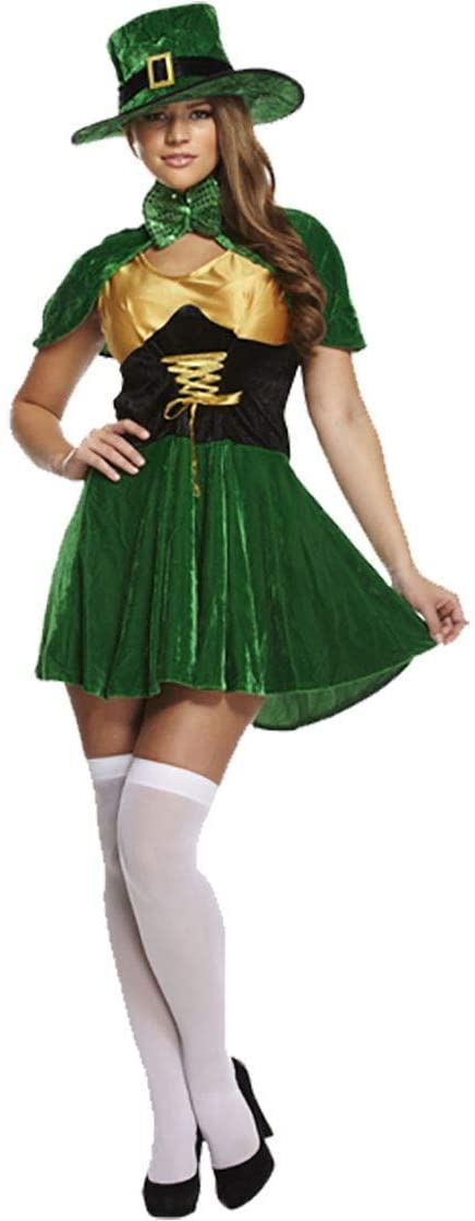 Rimi Hanger Hi Fashionz Womens Ladies Lucky Sexy St Patricks Irish Fancy Dress Costume Outfit One Size