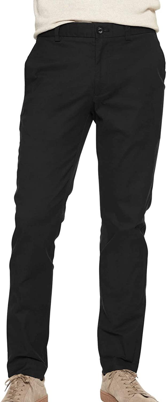 Banana Republic Mens Slim Fit Slim Leg 100% Cotton Casual Aiden Stretch Chino Pants