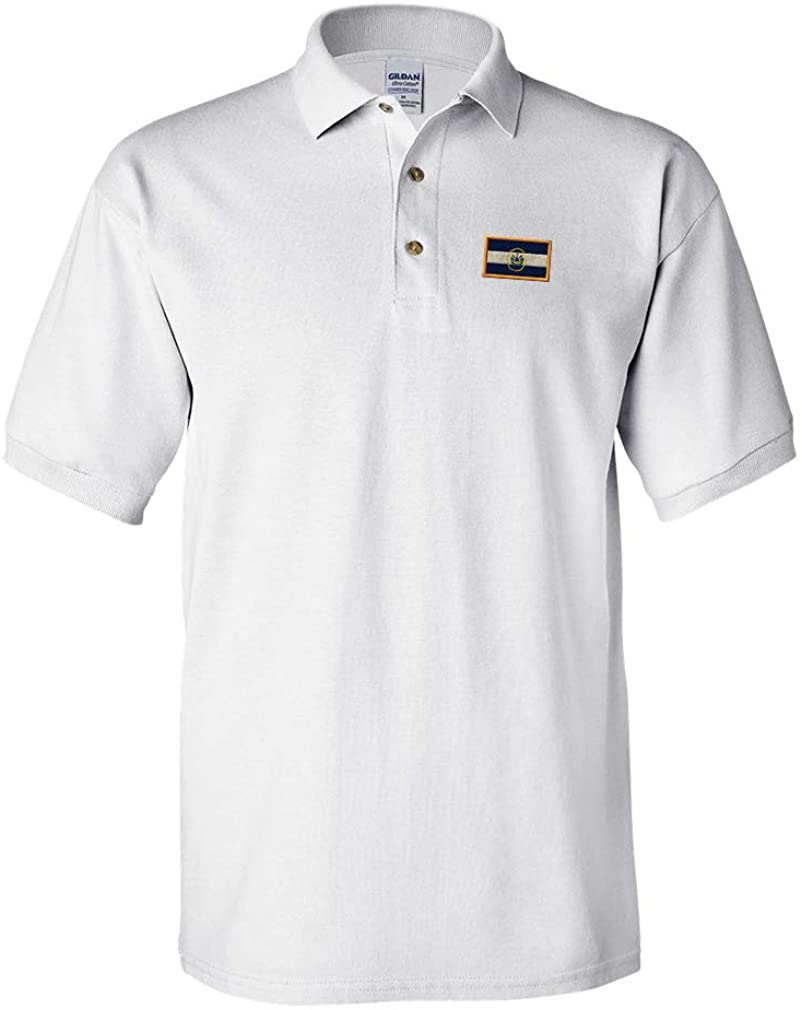 Custom Polo Shirt El Salvador Embroidery Design Cotton Golf Shirt for Men