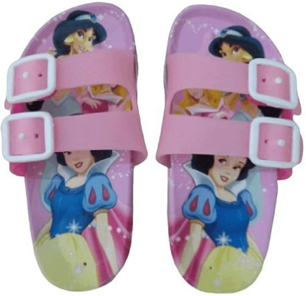 Size 9.5 Princess Summer slippers for girls Princess Jasmine and Snow White