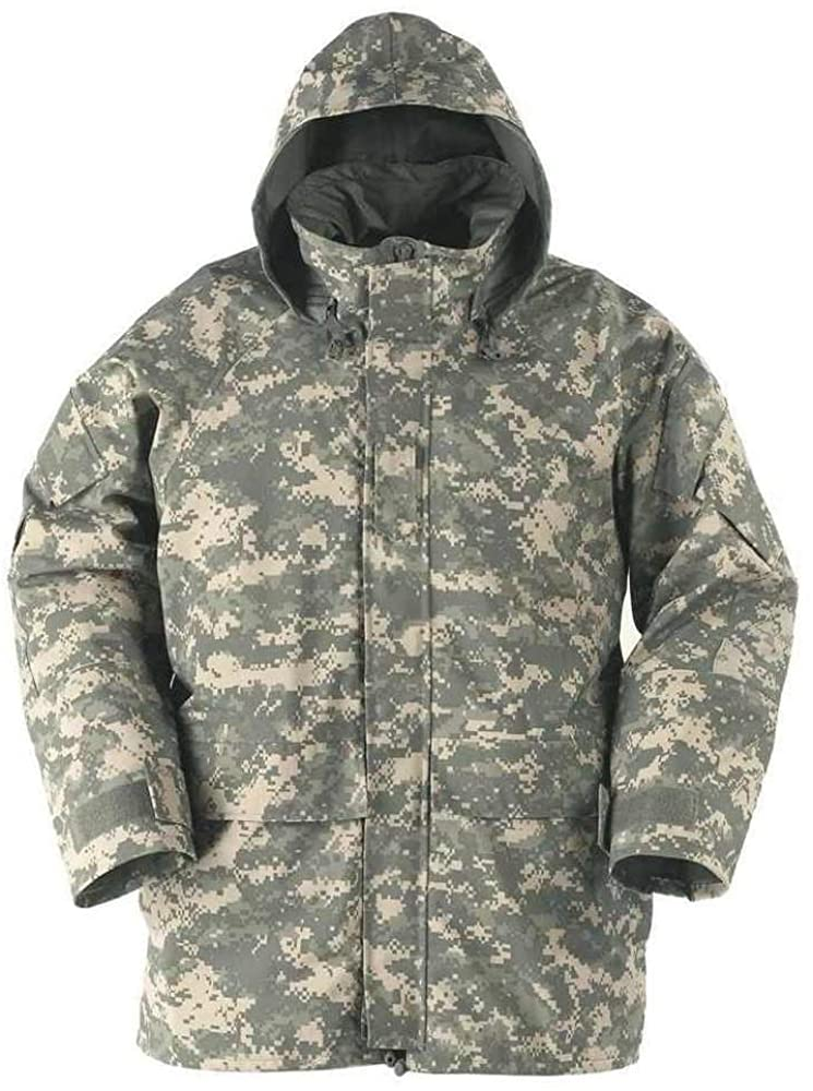 US Army Genuine Military Issue GEN 2 II ECWCS Camouflage Goretex Waterproof Parka Jacket Coat (AC, ML)