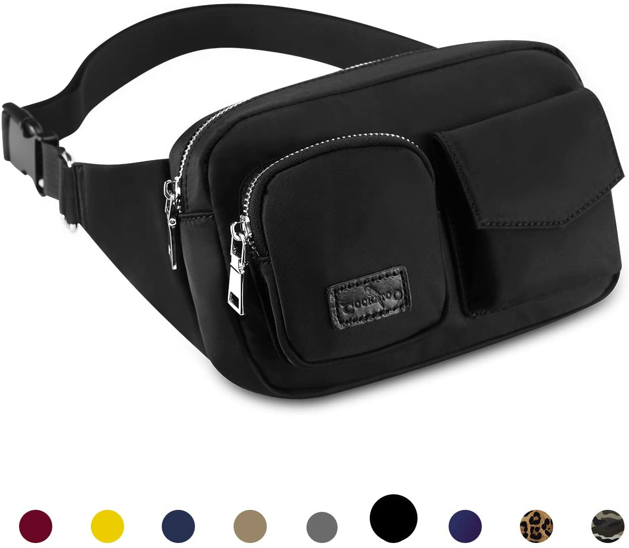 Cockatoo Fanny Pack Plus Size Waist Fanny Packs Stylish Large Women Men Fanny Packs Crossbody Boy Waist Bag Pack