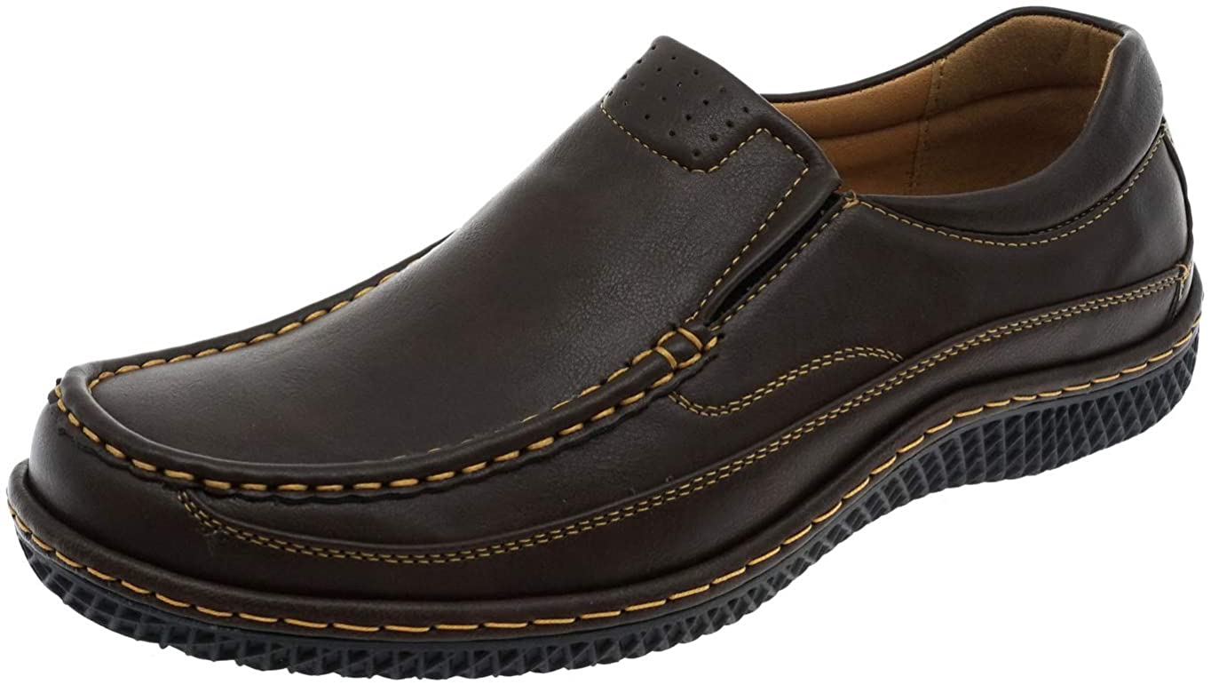 Cambridge Select Mens Slip-On Cushioned Comfort Loafer