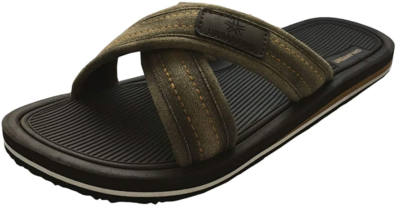 URBANFIND Men's Sandals Casual EVA Slide Slippers Beach Thong Flip Flop Shower Shoes