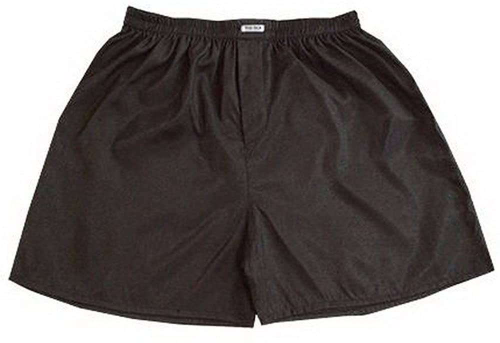 Fashionista New Men's Classic Silk Boxers Shorts Underwear Sleepwear