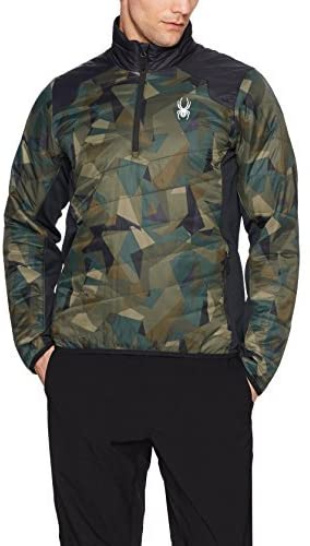 Spyder Men's Glissade Half Zip Insulator Jacket