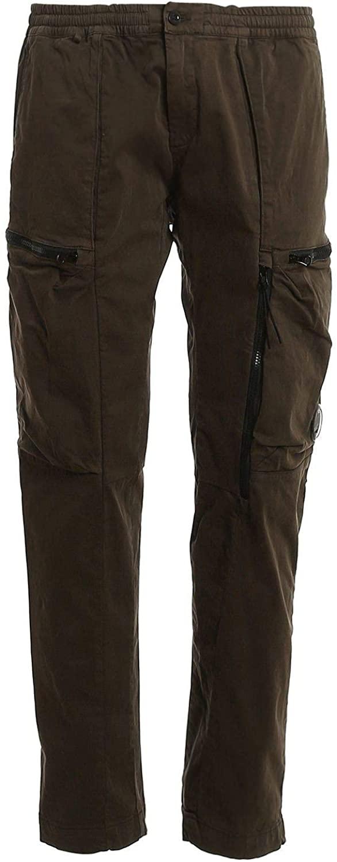 Luxury Fashion | Cp Company Man 09CMPA136A005529G683 Green Cotton Pants | Fall Winter 20