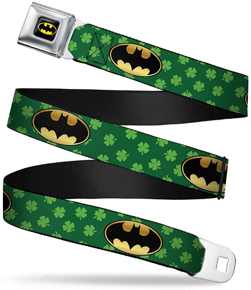 Buckle-Down Men's Seatbelt Belt Batman Wbm121