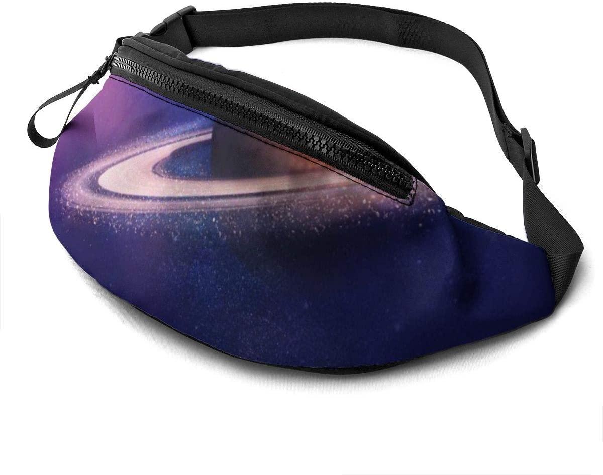 Charming Saturn Fashion Casual Waist Bag Fanny Pack Travel Bum Bags Running Pocket For Men Women