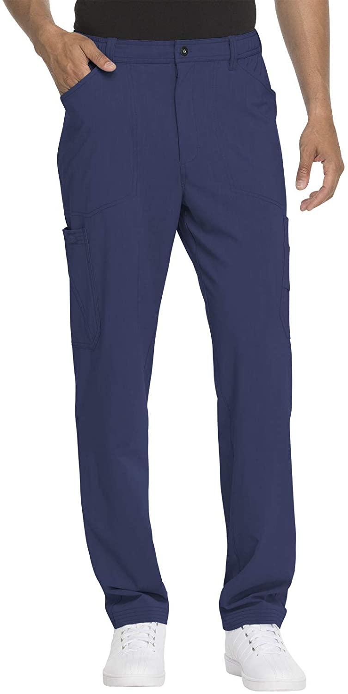 Dickies Men's Straight Leg Zip Fly Cargo Scrub Pant
