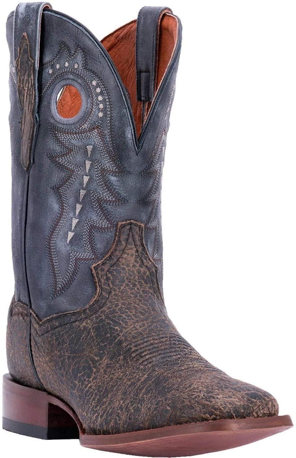 Dan Post Men's Badlands Cowboy Boot Square Toe - Dp3988