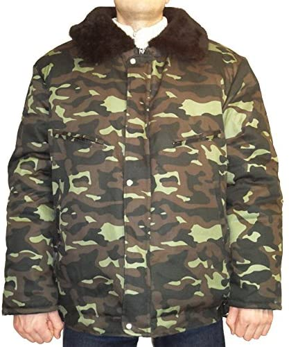 Russian Army Military Winter Camo Jacket Uniform Bn Bytan Size 4XL XXXXL or 58