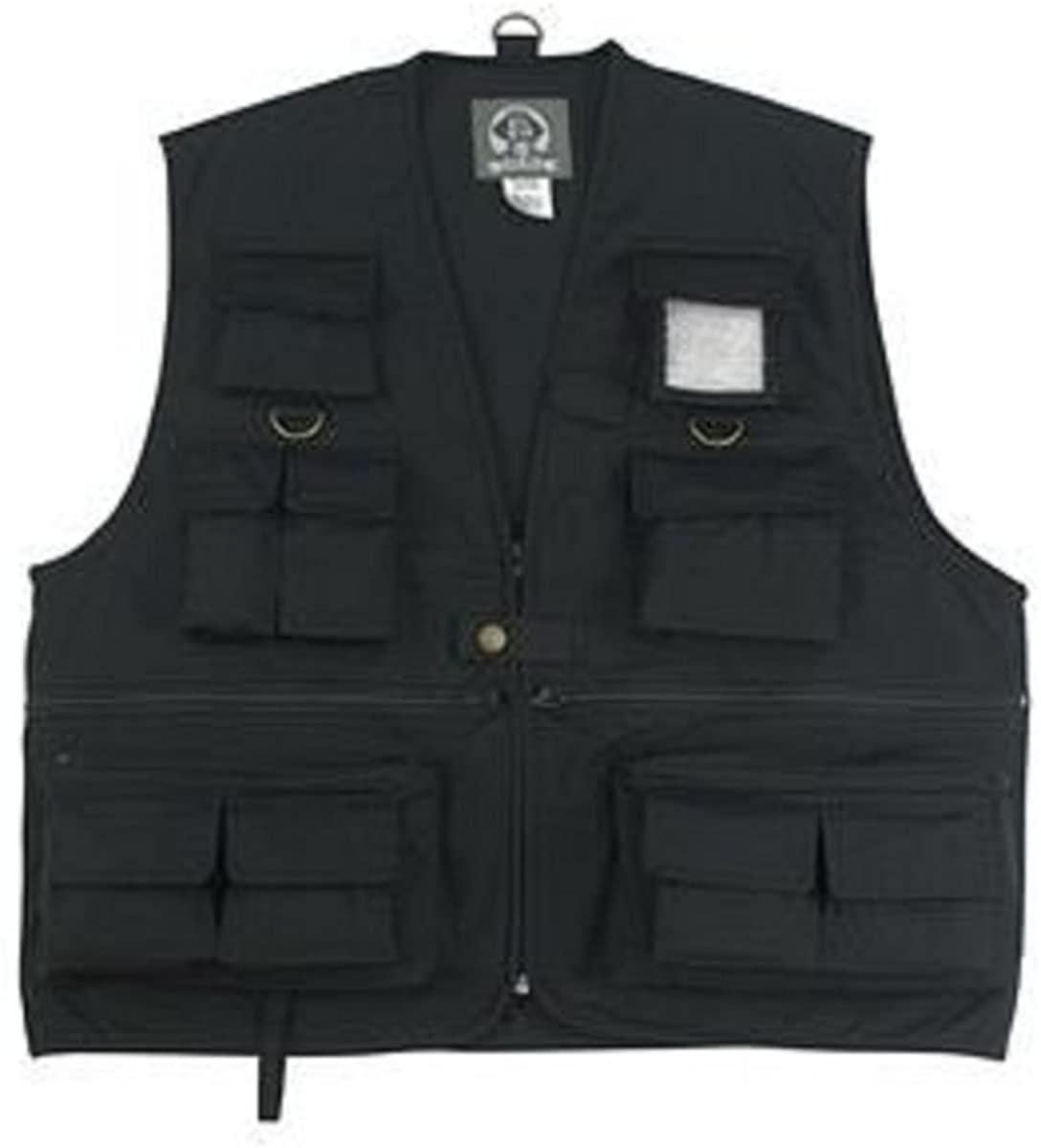 Black Uncle Milty Travel Vest