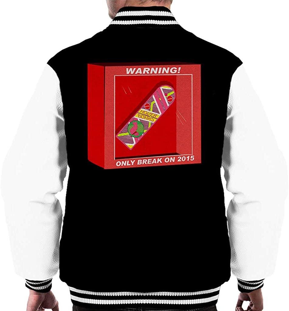 Back to The Future Hoverboard Break in 2015 Men's Varsity Jacket