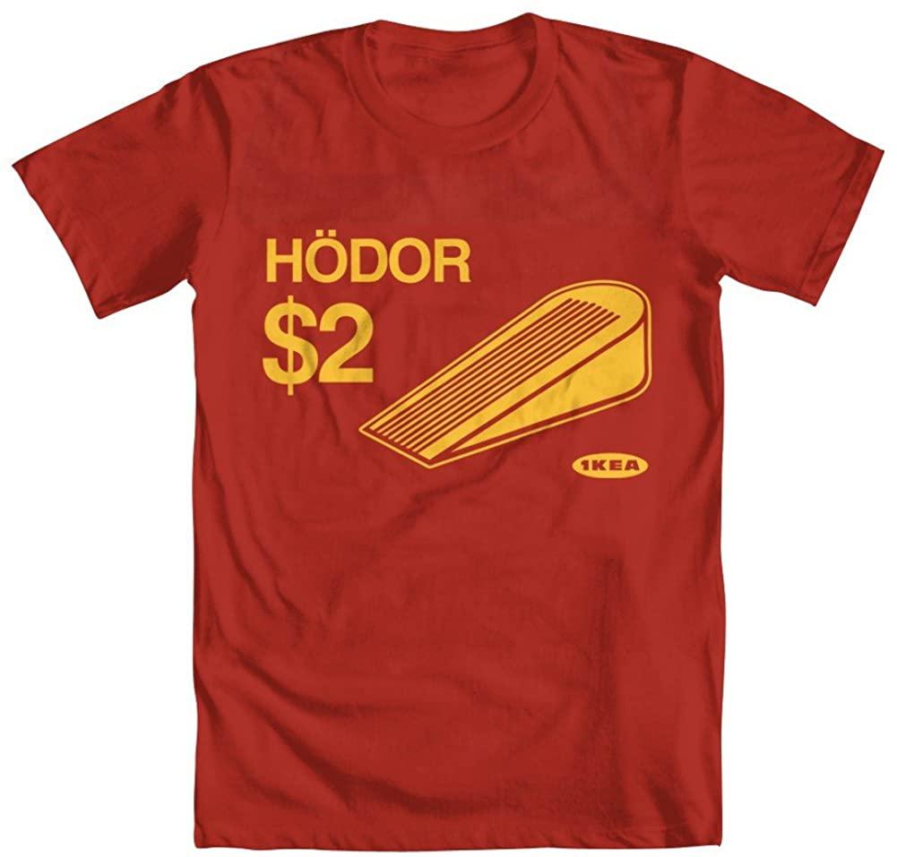 GEEK TEEZ Hold The Door Hodor Door Stopper Youth Girls' T-Shirt