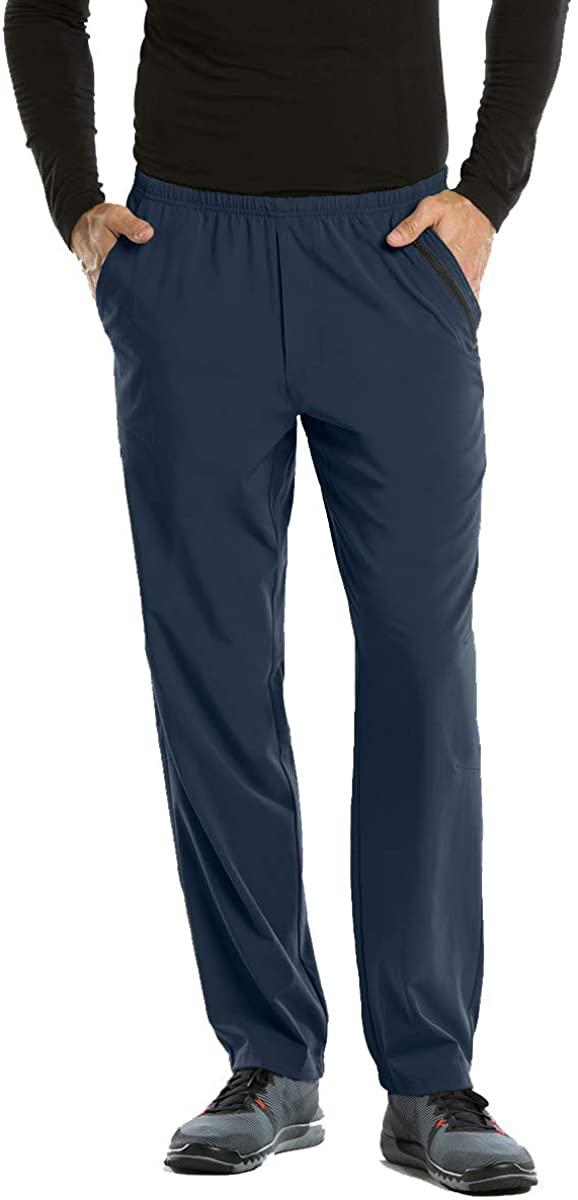 BARCO One 0217 Men's 7 Pocket Athletic Jog Scrub Pant Steel XL Tall