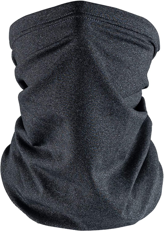 Laraine Neck Gaiters Face Mask Breathable Lightweight Balaclava Face Scarf Bandanas for Women(Heather Grey)