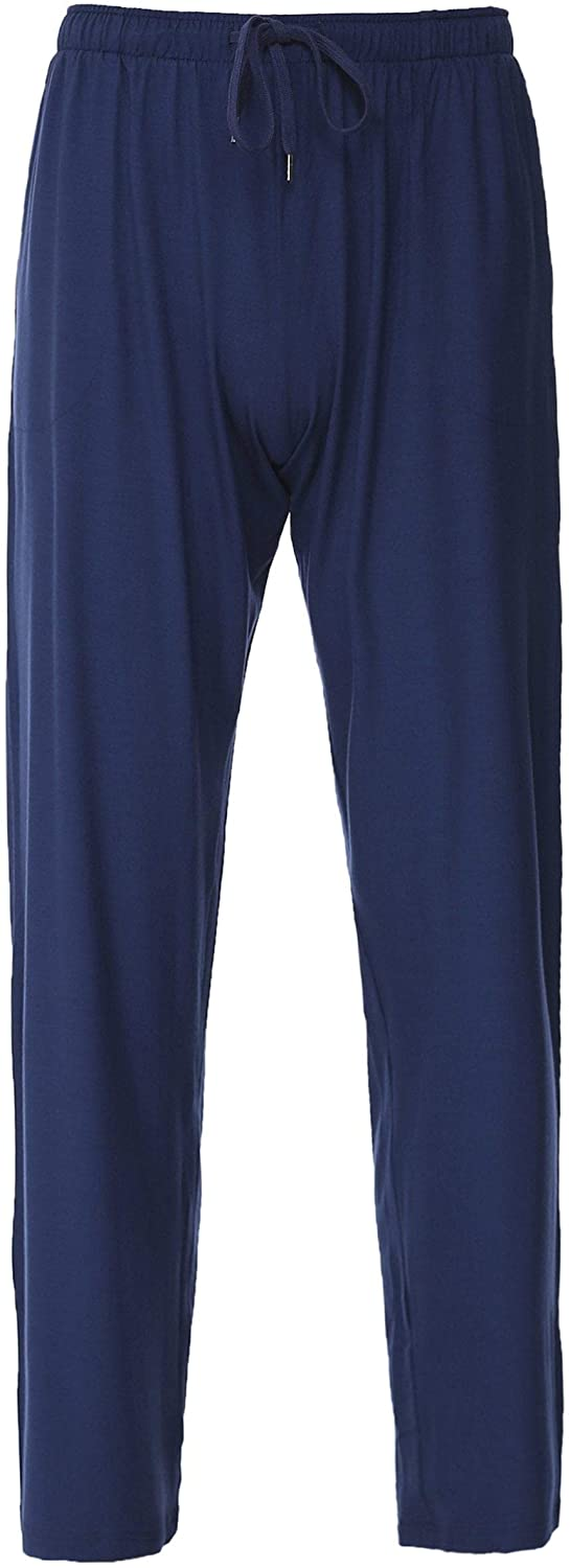 Derek Rose Men's Jersey Basel Lounge Pants Navy