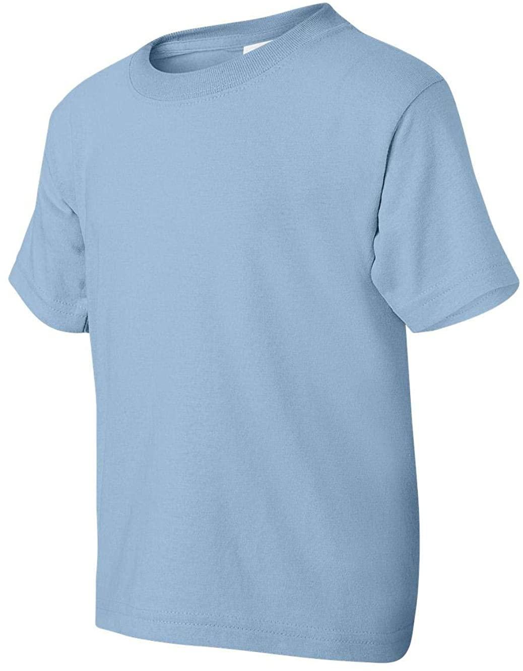 Gildan DryBlend 50/50 Youth T-Shirt, Light Blue