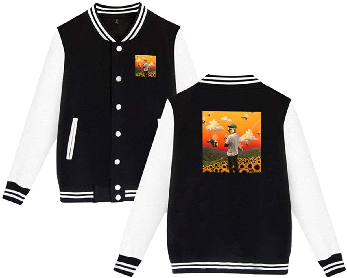 Golf Wang Tyler The Creator Rap Men Varsity Jacket Sweater Coat
