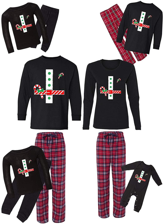 Awkward Styles Family Christmas Pajamas Set Red Santa Claus Matching Sleepwear