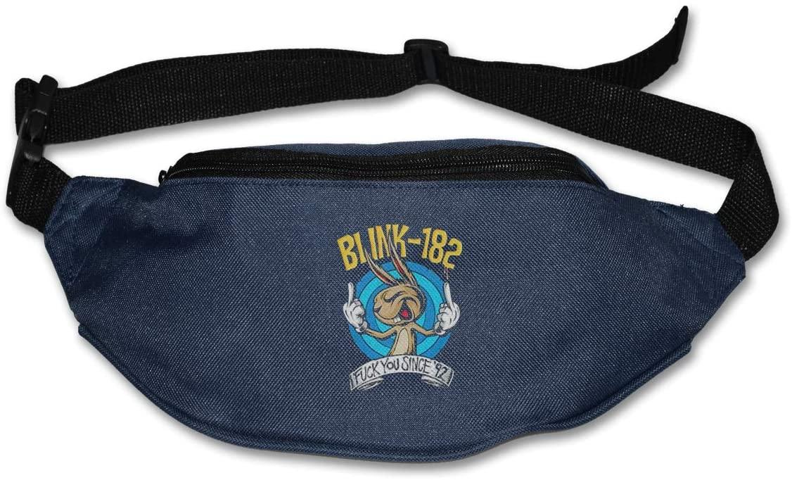 Blink 182 Fu Since 92 Pack Runners Belt Fanny Pack Running Belt Waist Navy