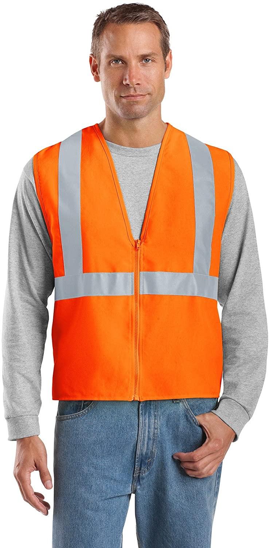 CornerStone Men's 107 Class 2 Safety Vest