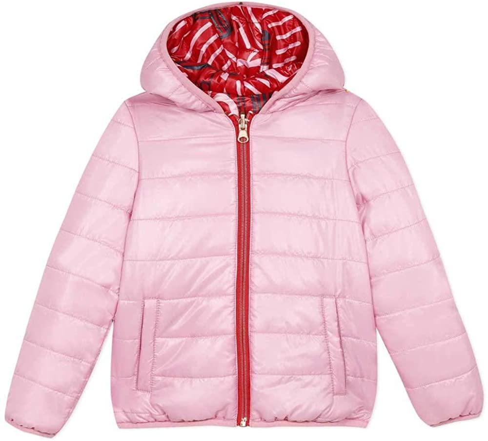Catimini Reversible Hooded Jacket Red