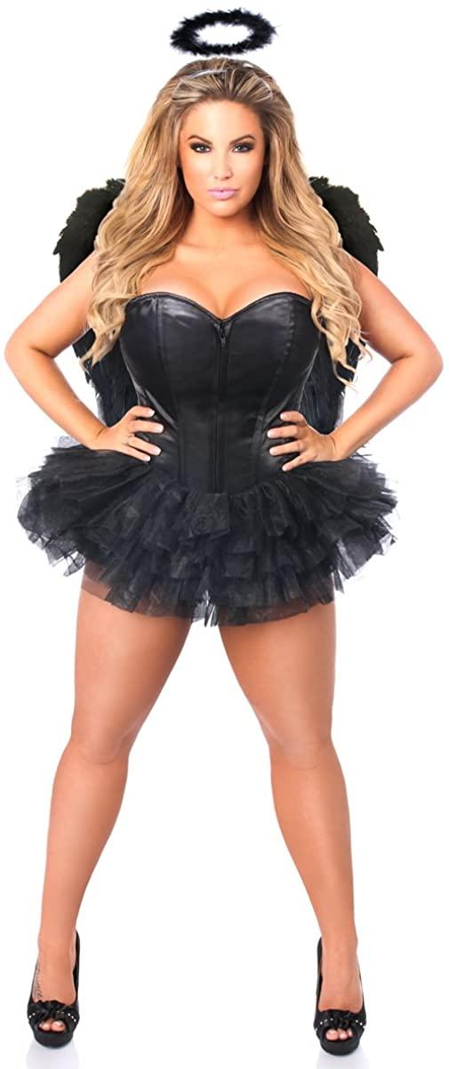 Daisy Corsets Women's Lavish Flirty Dark Angel Corset Costume