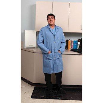 VF Workwear KEL2LB-ARGE Flame-Resistant Lab Coat, Light Blue, Extra Large