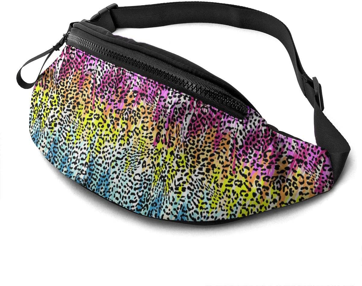Colorful Leopard Spots Fanny Pack Fashion Waist Bag