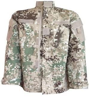 Mil-Tec Arid Fleck Military Combat Camouflage Uniform Jacket