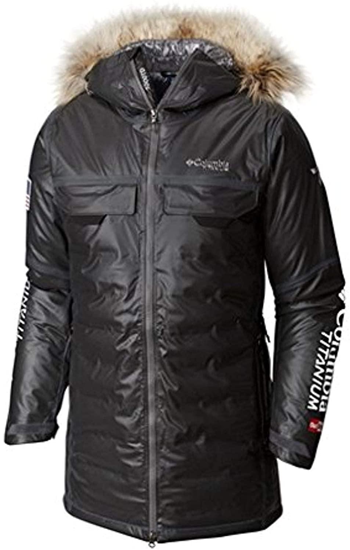 Columbia Men's Outdry Ex Diamond Heatzone Long Parka Jacket