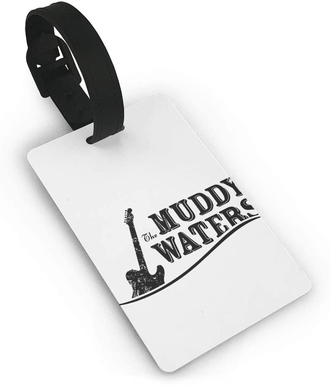 Muddy Waters Luggage Tagr Bag Tag Travel Suitcases Id Identifier Baggage Label 1 Piece