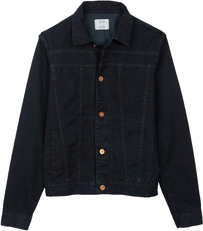 Billy Reid Men's Cullen Denim Trucker Shirt Jacket