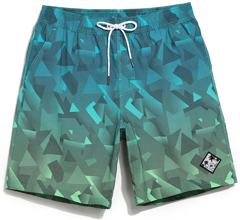Gailang Men's Board Beach Shorts Swim Boxer Trunks Swimwear Quick Dry Swimsuits