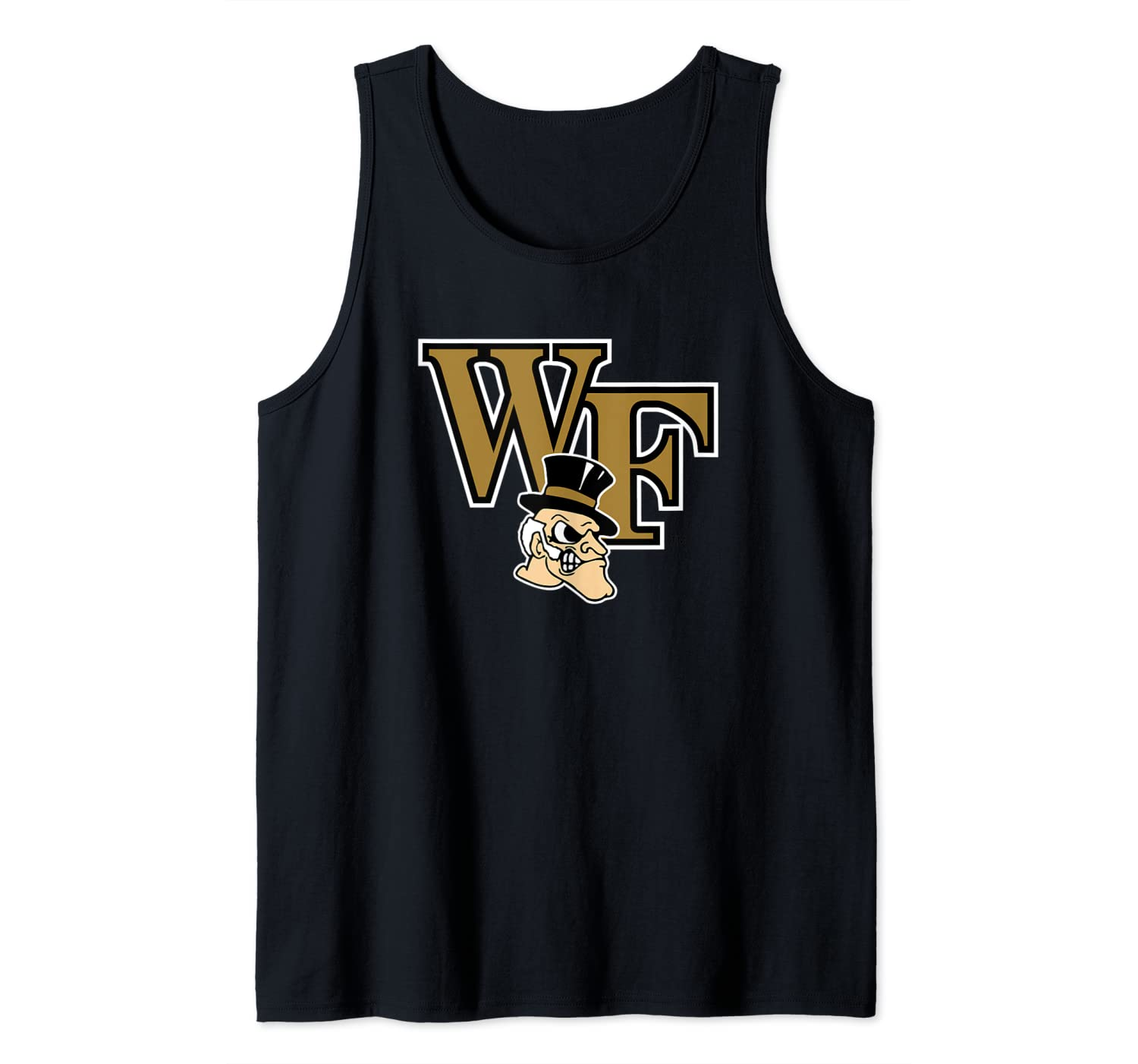 Wake Forest Demon Deacons College NCAA PPWF03 Tank Top