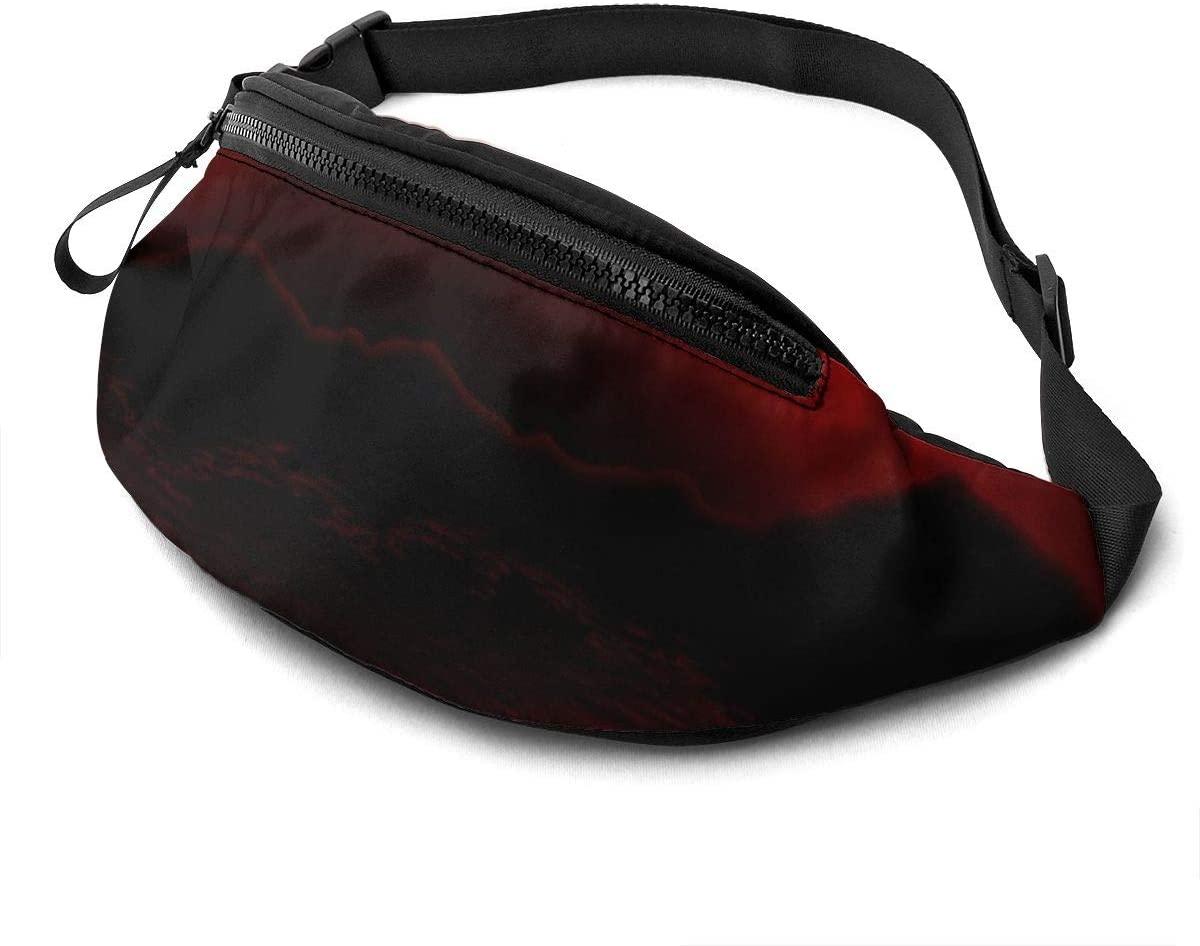 Red-Moon Fanny Pack Fashion Waist Bag