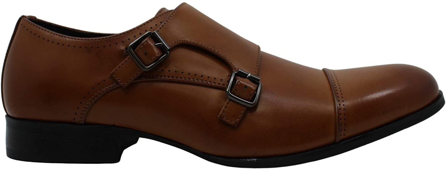 Unlisted by Kenneth Cole Mens Tex Me That Leather Slip On Dress Oxfords