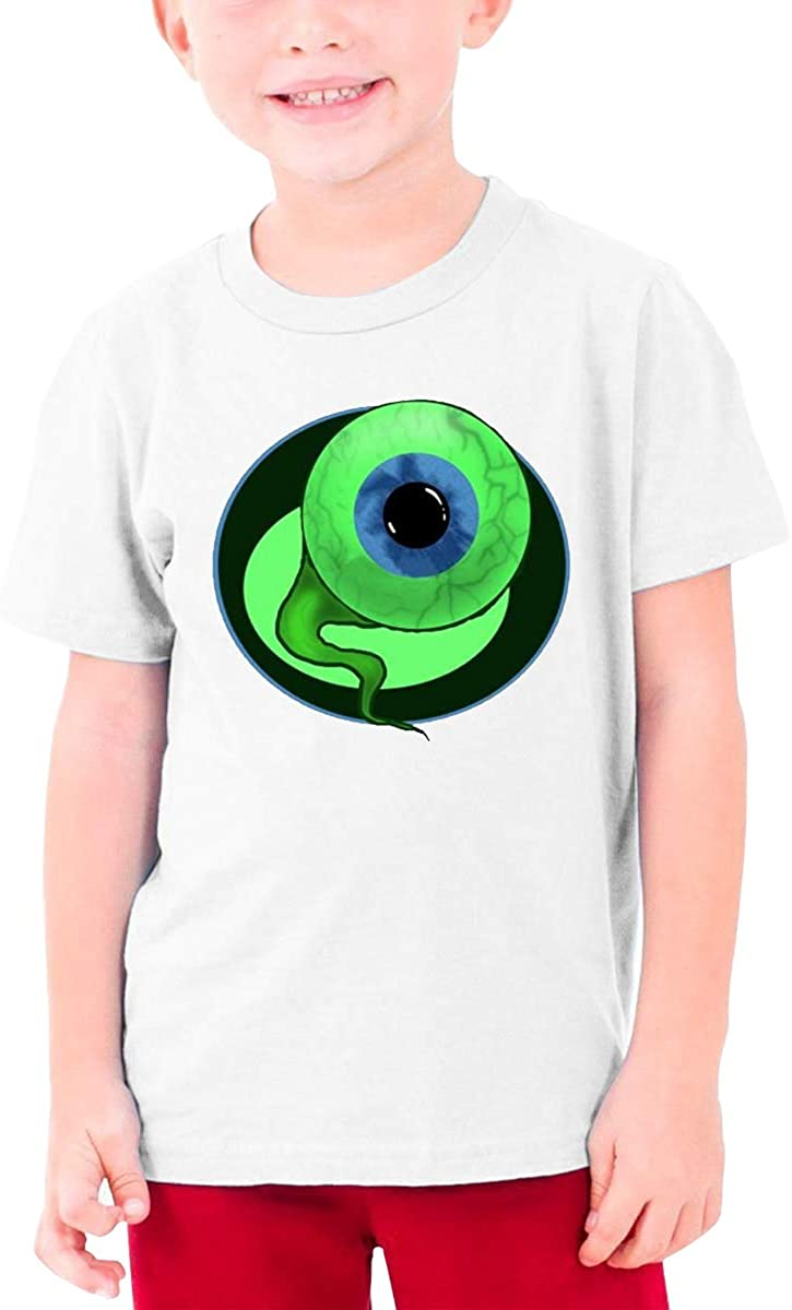 Boys and Girls Teens Short Sleeve T-Shirt Like A Boss (Jacksepticeye) Generous Eye-Catching Style White