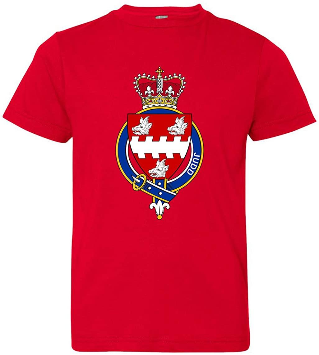Tenacitee Girl's Youth English Garter Family Judd T-Shirt