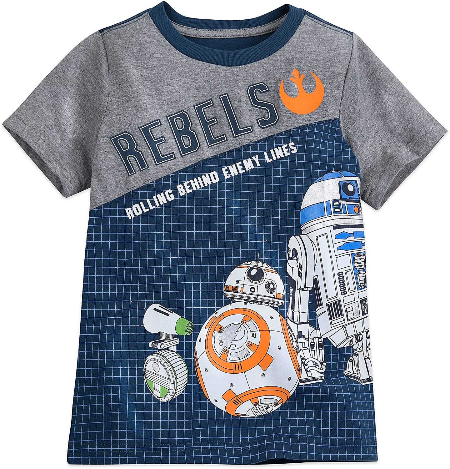 Star Wars BB-8 and D-O Fashion T-Shirt for Boys – The Rise of Skywalker