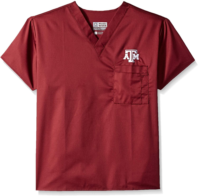 WonderWink Texas A&m University V-Neck Top
