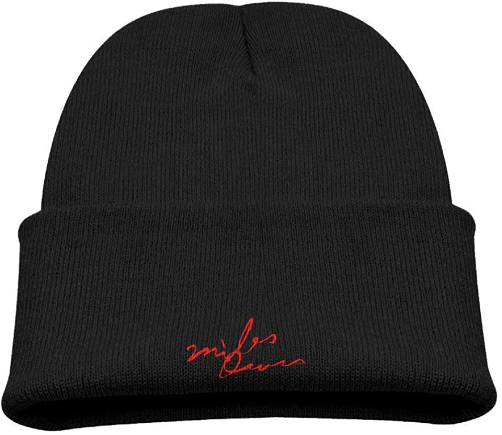 Miles Davis Kind Kids Cool Beanies Hats Great for Kids