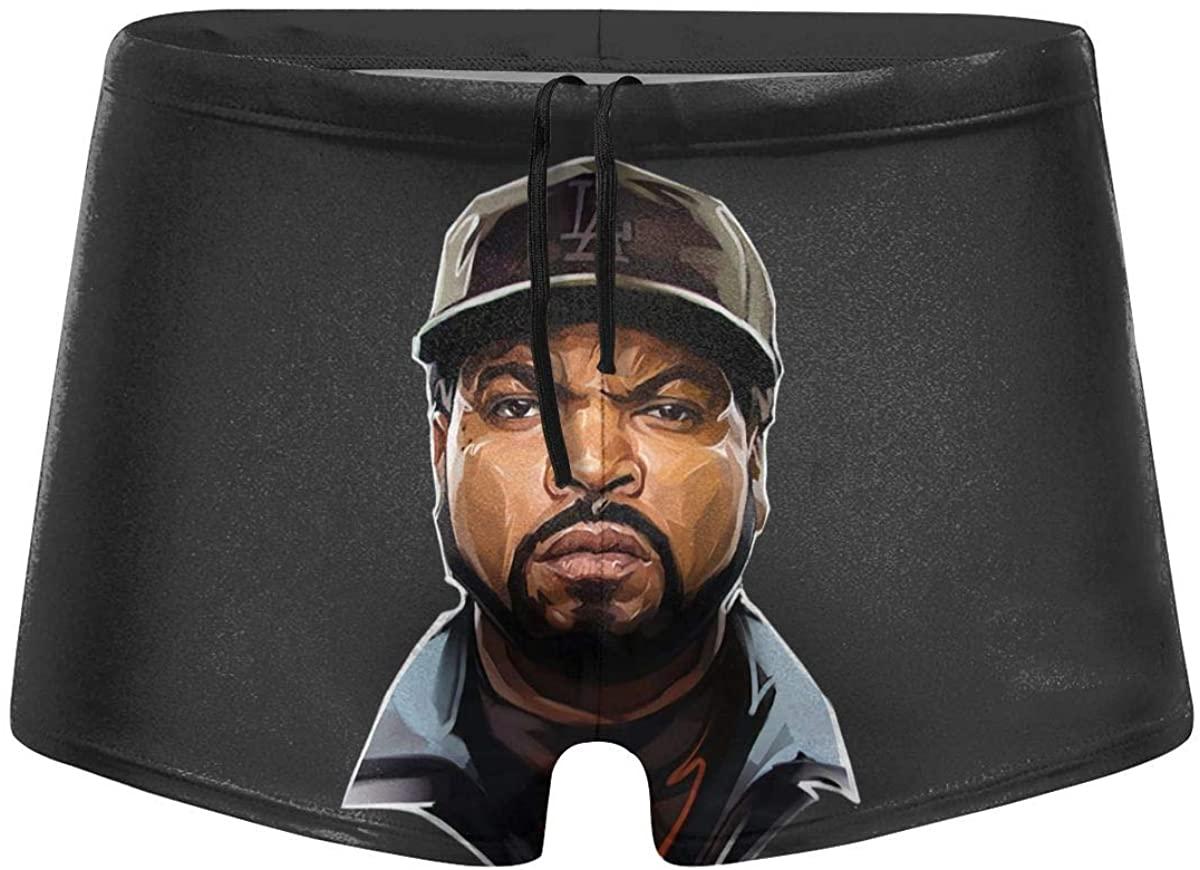 Ice Cube Swimming Boxer Swimwear Men's Swimwear Short Swim Trunks