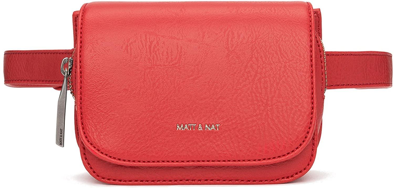 Matt & Nat Aki Dwell Belt Bag, Ruby