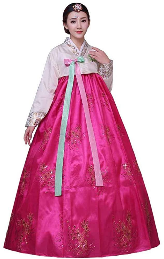 Female Korean Hanbok Traditional Dress Palace Korea Wedding Dance Costume Oriantal Dae Jang Geum Costume for Stage