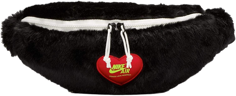 Nike x Olivia Kim Heritage Faux Fur Waist Bag Fanny Pack